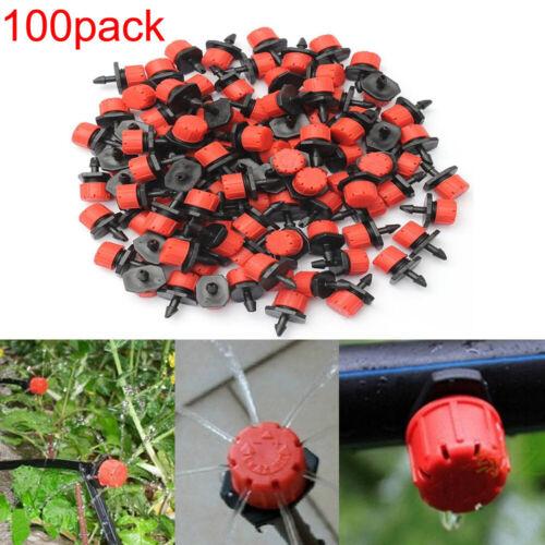 100x Automatische Bewässerungssystem Micro Tropfer Sprinkler Garten Bewässerung