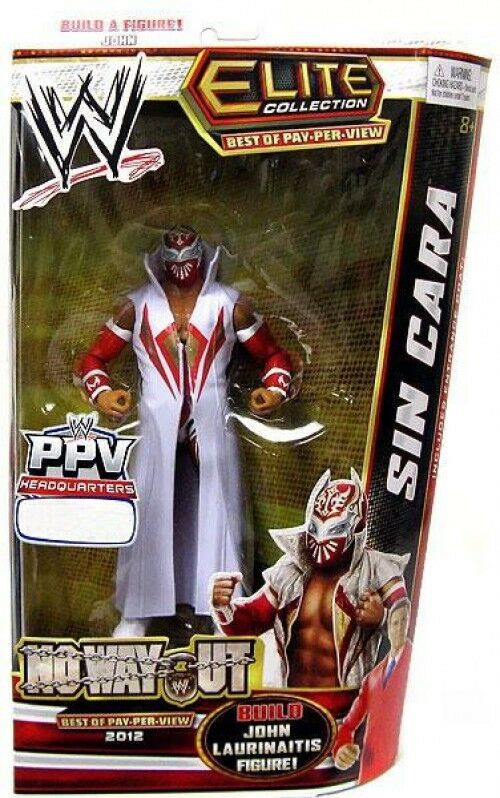 WWE Wrestling Elite Best of Pay Per View Sin Cara Exclusive Action Figure