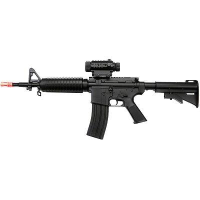 DOUBLE EAGLE FULL & SEMI AUTO ELECTRIC AIRSOFT AEG RIFLE GUN w/ 6mm BBs BB