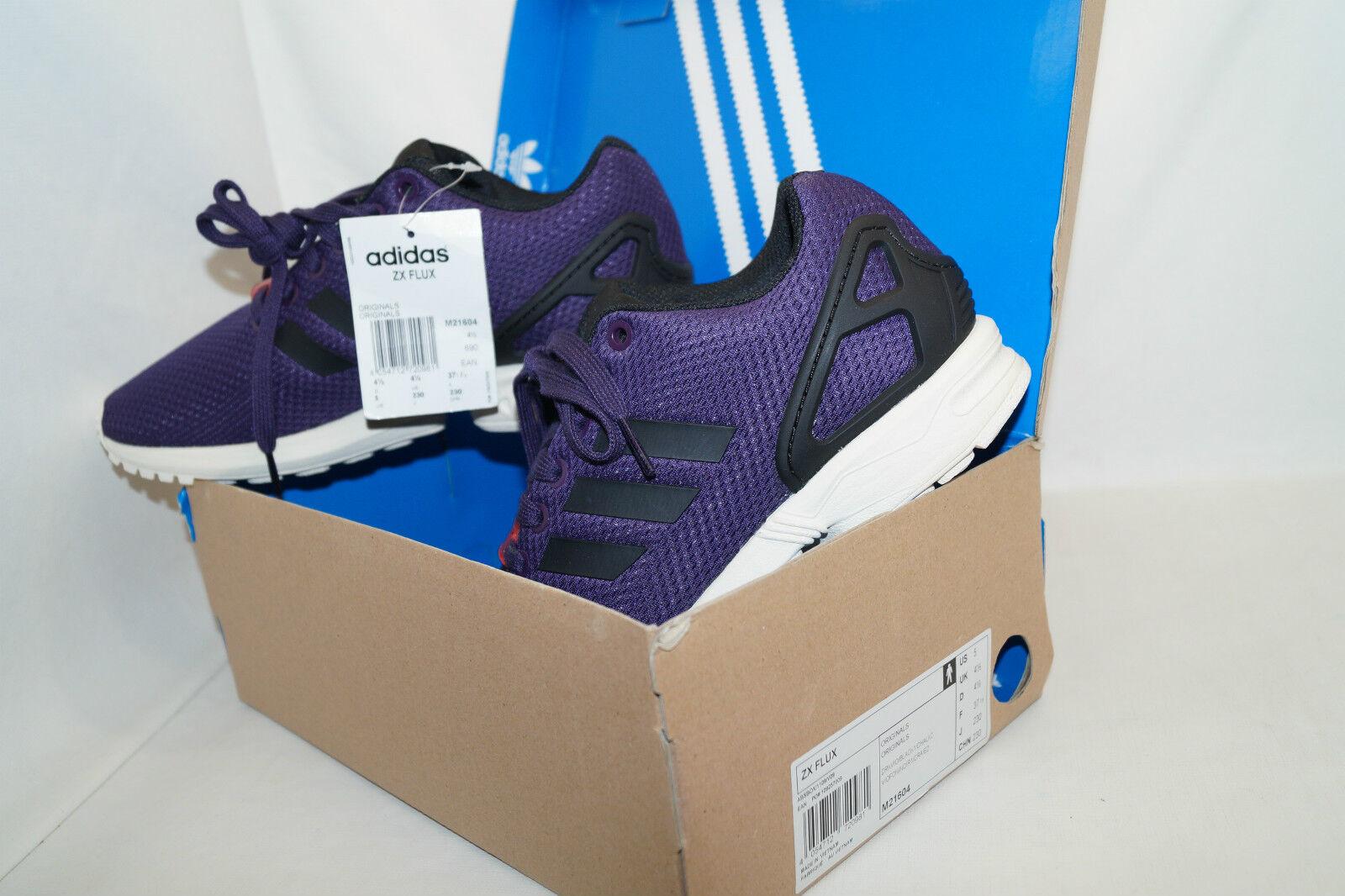 Adidas Originals ZX Flux Flux Flux Violet Bread beurre 2014 limited taille 37 1 3 NOUVEAU neuf dans sa boîte UK 4,5 f35ec6
