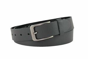 Offizieller Lieferant Mode-Design Online-Verkauf Details zu 100% echt Ledergürtel Damen Gürtel Herren Gürtel 3,5cm breit  Ledergürtel Grau