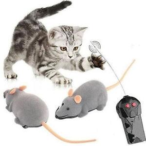 Wireless Remote Control RC Electronic raton ratones juguete para gato regalo JIW