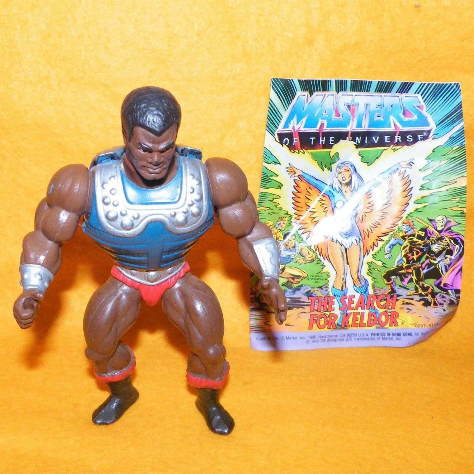 VINTAGE 1983 MATTEL MASTERS OF THE UNIVERSE MOTU HE-MAN CHAMP CLAMP MINI COMIC