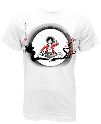 2019 Ultimo Disegno S-m-l-xl Camiseta T-shirt Luffy One Piece Japan