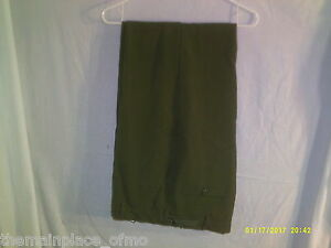 Army-Wool-Uniform-Pants-Green-Medium-Regular-US-USGI-Dress