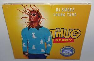 YOUNG-THUG-THUG-STORY-2018-BRAND-NEW-SEALED-CD-MIXED-BY-DJ-SMOKE