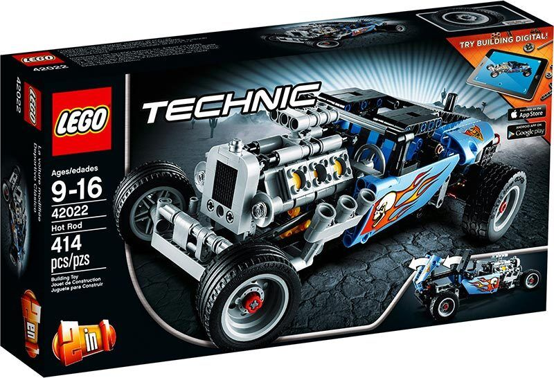 LEGO TECHNIC 42022  Hot Rod - Brand NEW in Box