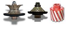 12 Full Bevel Bullnose Diamond Router Bit 2 Grinding Drum Granite Stone Sink
