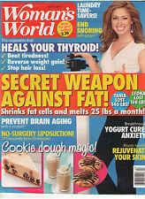WOMAN'S WORLD APR 2016 HEALS THYROID SECRET WEAPON AGAINST FAT HOLLAND YOGURT