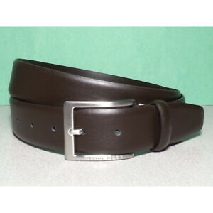 Handmade 1 1//4 Wide Men Leather Belt Brown Western Work Dress Belt USA Made