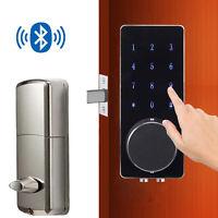 Smart Digital Door Lock Deadbolt Electronic Ouchscreen Keyless Smart Door Lock