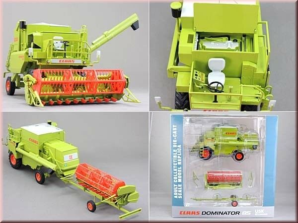 USK Scalemodels Claas Dominator 85 with trailer 1 32 scale boxed