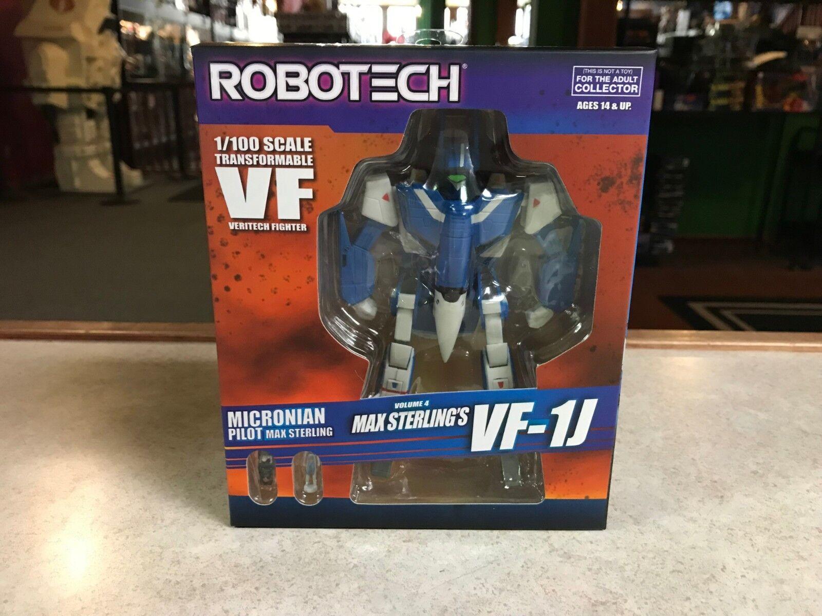 2018 toynami robotech max sterling ist vf-1j veritech kämpfer 1   100 abbildung nib