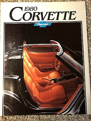 Automobiles Collectibles Generous 1980 Chevrolet Corvette Original Sales Brochure A Great Variety Of Models