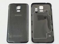 Original Samsung Galaxy S5 Battery Back Cover W/nfc For Sprint/tmobile-black
