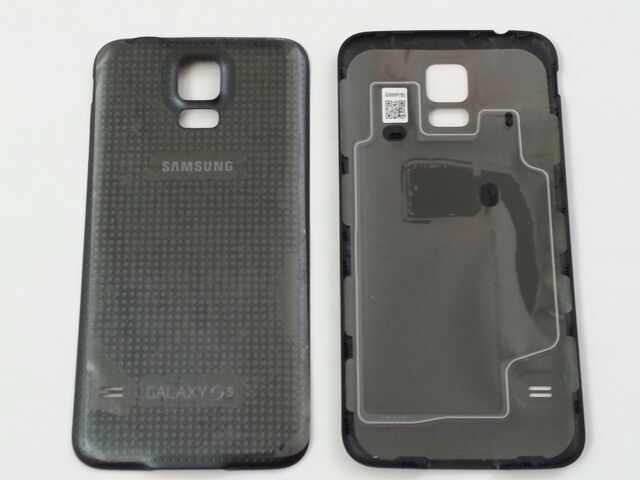 the latest a21fd f99b4 Original OEM Samsung Galaxy S5 Battery Back Cover W/nfc for  Sprint/tmobile-black