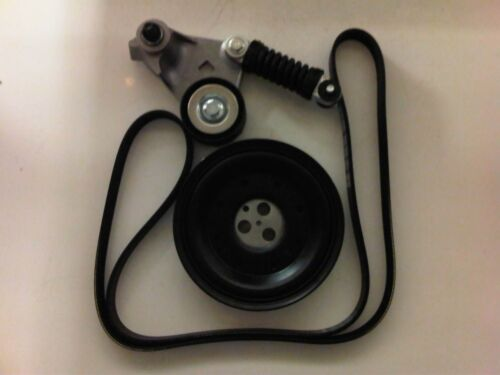 FORD MONDEO MK3 2.2 ST TDCi DIESEL CRANK SHAFT PULLEY DRIVE BELT /& TENSIONER