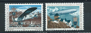 Liechtenstein-N-664-65-MNH-1979-Europa-034-Service-postal-aerien-034