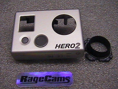 Frontblende Kamera Frontplatte Abdeckung Für Gopro Hd Hero Hd2 Hero2 Silber Mint Weitere Rabatte üBerraschungen Camcorder-teile