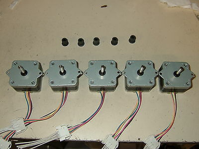 5 x Stepper motors CNC ROUTER MILL ROBOT REPRAP MAKERBOT