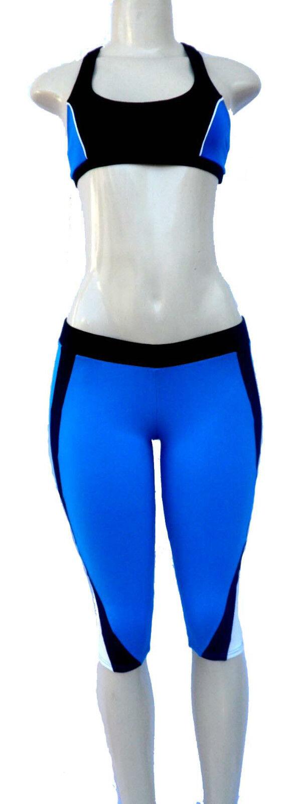 Brazilian Fitness Supplex Bra & Capri Outfit