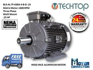 Image Is Loading 25 Hp Electric Motor Metric 1800 Rpm 3