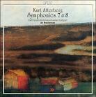 Kurt Atterburg: Symphonies Nos. 7 & 8 (CD, May-2001, CPO)