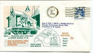 1978 Frcs Hoisted Test Bay White Sands Missile Range Space Shuttle New Mexico