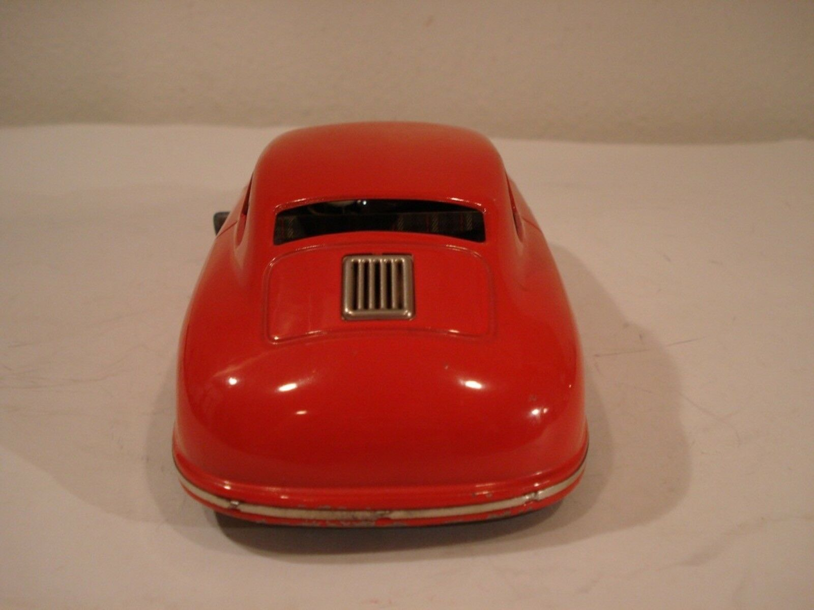JNF (Germany) Red Red Red Porsche 356 Coupe Tinplate Wind-Up 1 19 478e97
