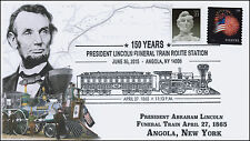 2015, President Lincoln Funeral Train Route, Pictorial, Angola NY, 15-358