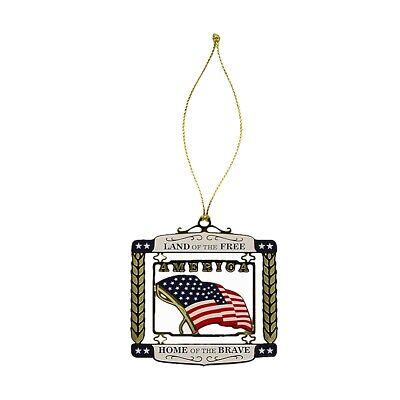 United States National Anthem 3D USA Christmas Tree ...