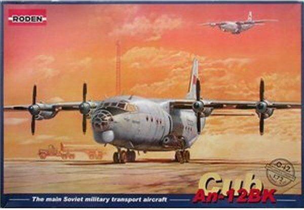 1 72 Antonov An-12BK Cub RODEN 042 Model kit