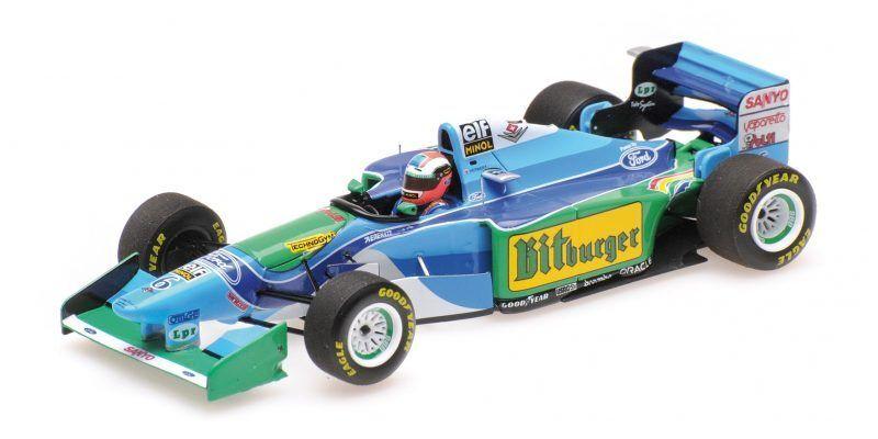 Benetton Ford B194 Johnny Herbert Australian Gp 1994 1 43 modellolo MINICHAMPS