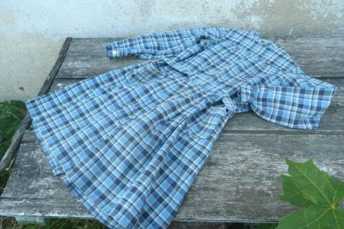 Vintage French 1930 girl school chore dress /worke