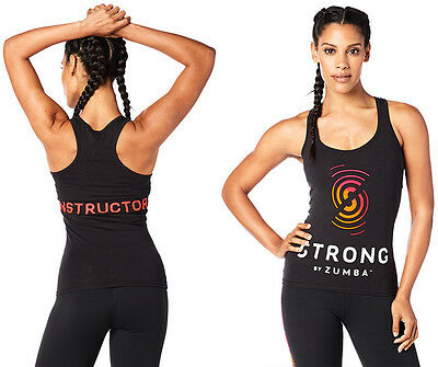 ZUMBA STRONG by Zumba Racerback Tank Tee-Instructor Elite Z-Wear SOLD OUT