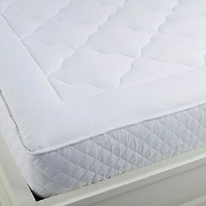 Concierge Collection Quilted Mattress Pad Queen New