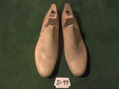 VINTAGE 1958 PAIR Wood Size 4-1//2 C GARRISON LEADER Shoe Factory Last #897