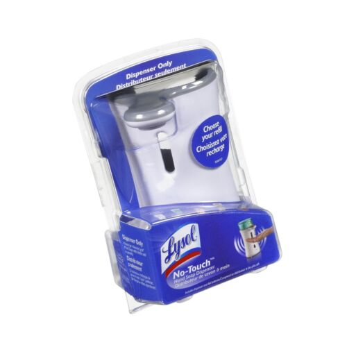 Lysol No-Touch Automatic Hand Soap Dispenser 1 Count Colors May Vary