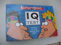 2003 Battle Of The Sexes Iq Test Board Game & Factory Sealed