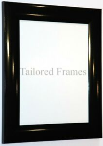 Gloss Black and Gloss White Picture Frames (Available all ...
