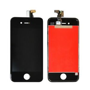 Replacement-LCD-Screen-Digitizer-Assembly-For-iPhone-4S-gsm-A1387-Black