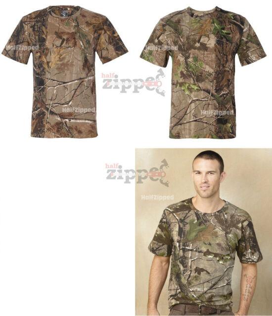 Code V REALTREE Mens Camo T-Shirt 3981 S-2XL Long Sleeve Camouflage AP APG HD