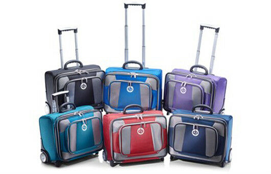 DRAKES PRIDE LOW ROLLER TROLLEY BAG IN VARIOUS COLOURS  B4292