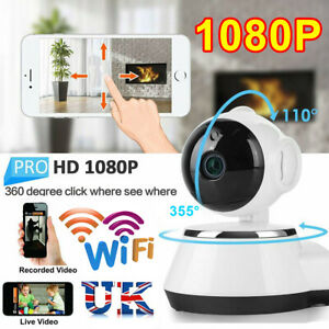 Details about Smart WiFi Audio CCTV Camera 1080P HD Wireless IP Camera Home  Security UK
