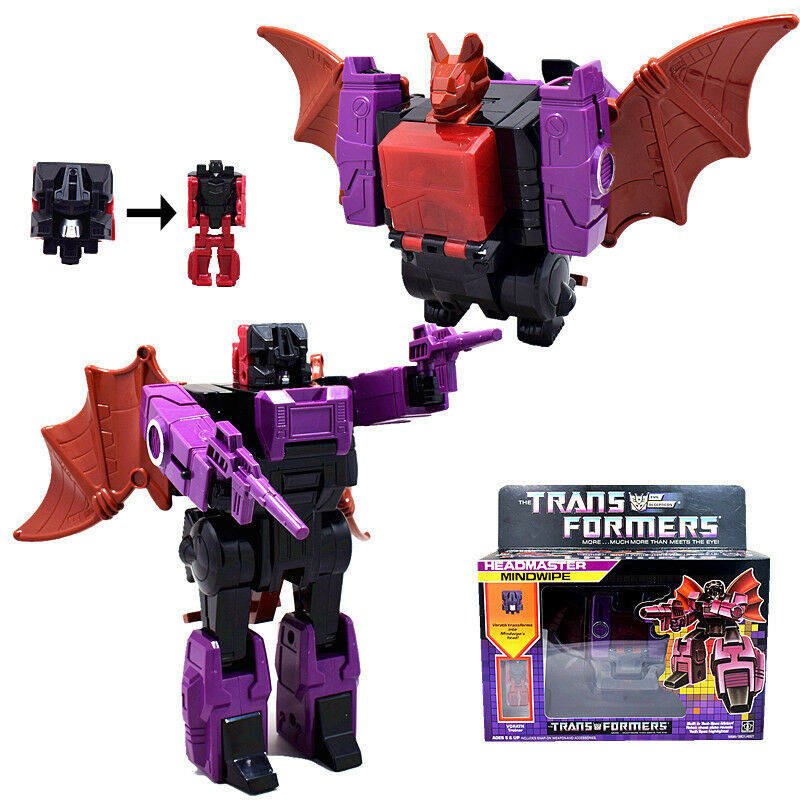 Transformers G1 Headmasters Mindwipe Action Figure 5 inches Toy Doll New in Box