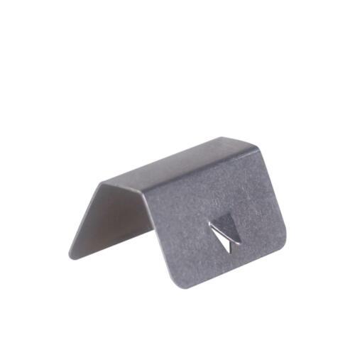 2X Deflector de Viento//lluvia Coche canal Metal Retención Clips para Heko Clip G3 Nuevo