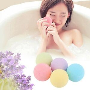 Women-039-s-Shower-Essential-Oil-lavender-Fragrance-10-41g-Bath-Salt-Bombs-Balls-New