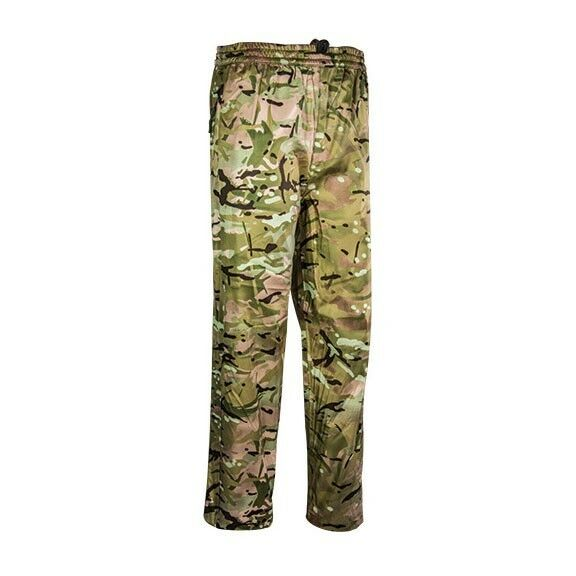 Highlander Tempest Rain Trousers Camo Waterproof Over Trousers Hunting Shooting