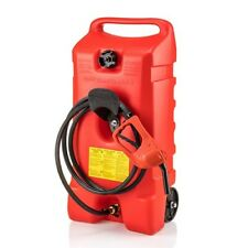 Scepter Flo N Go Duramax 14 Gallon Portable Gas Fuel Tank Container With Pump