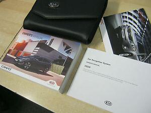 kia cee d ceed owners manual handbook pack 2014 2016 inc sat rh ebay co uk kia ceed owner's manual 2015 kia ceed 2011 owners manual